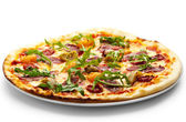 Duck Meat Pizza — Stock Photo