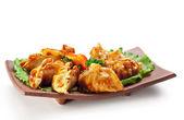 Japanese Cuisine - Meat Dumplings — Stock Photo