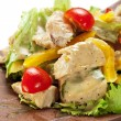 Chicken Breast Salad — Stock Photo