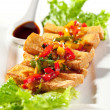 Deep Fried Tofu — Stock Photo