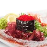 Red Tobiko Gunkan Sushi — Stock Photo #23474408