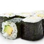 Avocado Roll — Stock Photo #23474514