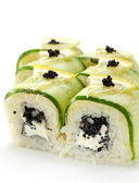 Cucumber Roll — Stock Photo