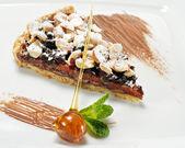Dessert - Chocolate Shortcake — Stock Photo