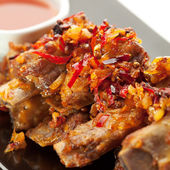 Barbecued Ribs — 图库照片