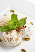Dessert - Home-made Ice-cream — Stock Photo