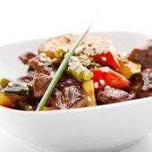Veal with Piquant Sauce — Stock Photo
