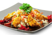 Chicken Korma Salad — Stock Photo