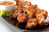 Fried Chicken Wings — Stockfoto