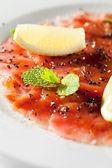 Tuna Carpaccio — Stock Photo