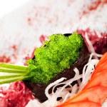 Wasabi Tobiko Gunkan Sushi — Stock Photo #23482847