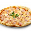 Royalty-Free Stock Photo: Carbonara Pizza