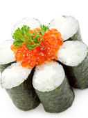 Salmon Roe Roll — Stock Photo
