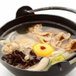 Pork Soup with Mushrooms — Stock Photo