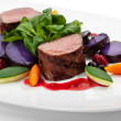 Stock Photo: Venison Dish