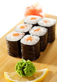 Salmon Roll — Stock Photo
