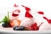 Dessert - Fruit Mousse — Stock Photo