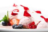 Dessert - Fruit Mousse — Stock Photo
