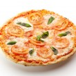 Stock Photo: Caprese Pizza
