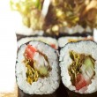 Vegetarian Roll — Stock Photo