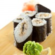 Eel Roll — Stock Photo