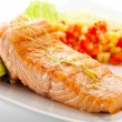 Salmon Steak — Foto de Stock   #23874933