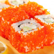 Royalty-Free Stock Photo: California Roll with Tobiko