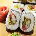 Vegetarian Roll — Stock Photo #23875433