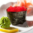 Tobiko Gunkan — Stock Photo