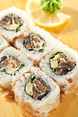 Salmon Skin Roll — Stock Photo