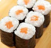 Salmon Roll — Stock Photo