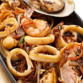 BBQ Seafood — Stock Photo