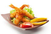 Tempura Shrimps — Stock Photo