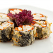 Japanese Cuisine - Deep-fried Sushi Roll — Stock Photo #23881319