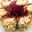 Japanese Cuisine - Deep-fried Sushi Roll — Stock Photo