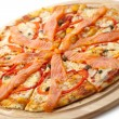 Seafood Pizza — Stock Photo