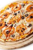 Spicy Pizza — Stock Photo