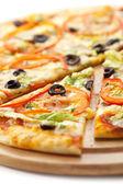 Pizza vegetariana — Foto Stock