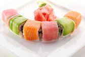 Rainbow Roll — Stock Photo