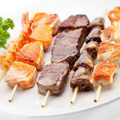 Grilled Foods — Stock Photo