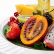 Exotic Fruit Dish — Stock Photo #23890289