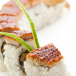Smoked Eel Maki Sushi — Stock Photo