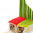 Tobiko Spicy Roll — Stock Photo