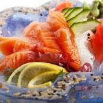 Salmon Sashimi — Stock Photo #23899871