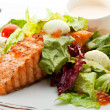 Salmon Steak — Stock Photo #23899891