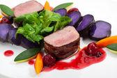 Venison Dish — Stock Photo