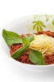 スパゲティ ボロネーゼ — ストック写真