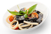 Seafood Pasta — Stock Photo