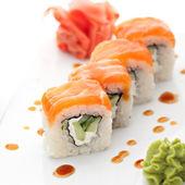 Rouleau de saumon — Photo