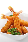Tempura Shrimps — Foto Stock